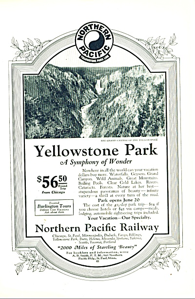 Northern Pacific Railway - 1925