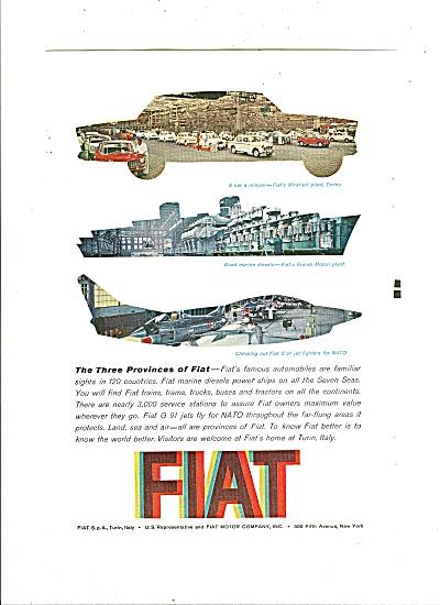 Fiat Automobile ad 1961 (Image1)