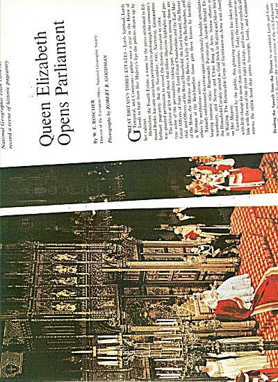 Queen Elizabeth Opens Parliament - 196 (Image1)