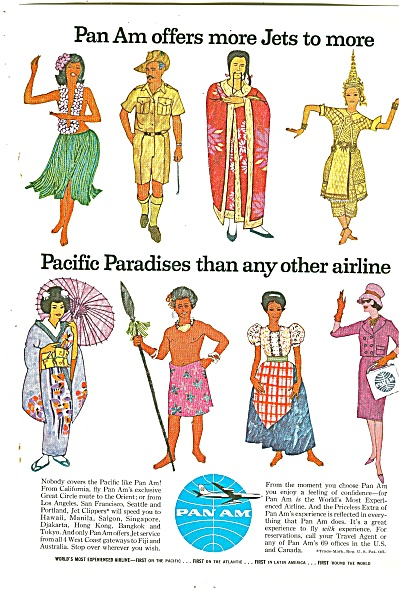 Pan Am Airlines ad 1961 (Image1)