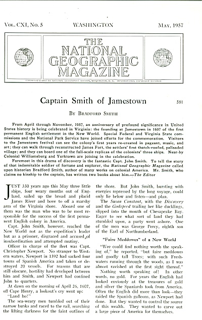 Captain Smith Of Jamestown - 1957