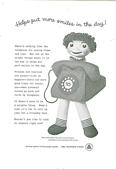Bell Telephone System ad 1957 (Image1)