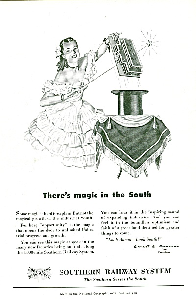 Southern Railway System Ad 1951