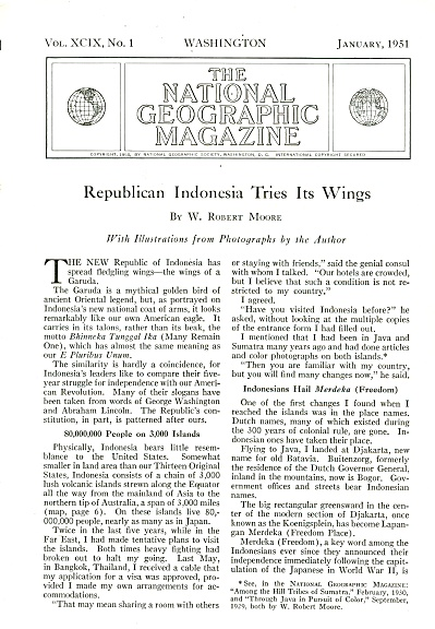 Republican INDONESIA  tries its wings -1951 (Image1)