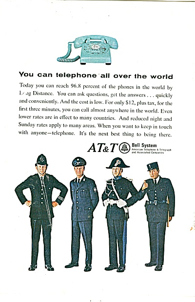 A T & T -Bell system ad 1966 (Image1)