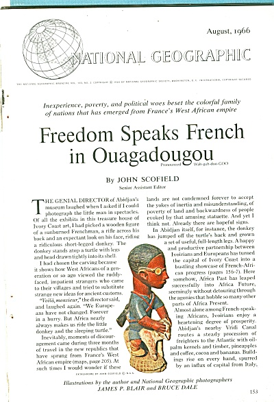 Freedom speaks F4rench in OUAGADOUGOU - 1966 (Image1)
