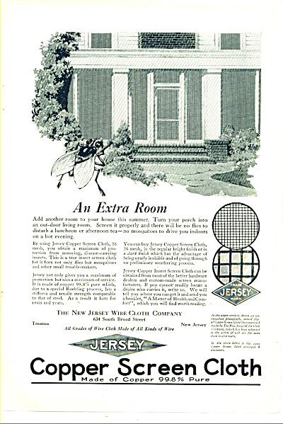 Copper Screen Cloth ad 1925 (Image1)