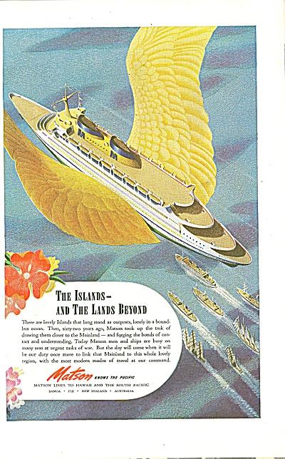 Matson Lines ad 1944 (Image1)