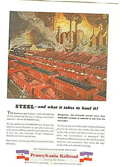 Pennsylvania Railroad ad 1944 (Image1)