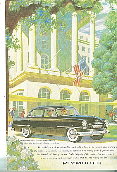 Plymouth automobile 1953 (Image1)