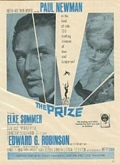 1963 Movie AD for the Prize - Paul Newman (Image1)