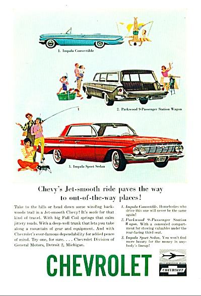 1961 Chevrolet AD PARKWOOD IMPALA ORIGINAL (Image1)