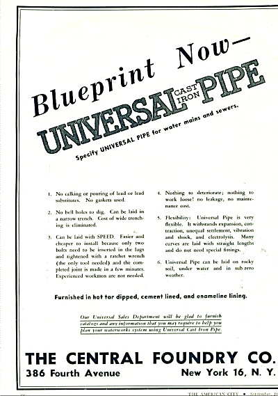 1944 Central Foundry AD Universal PIPE (Image1)