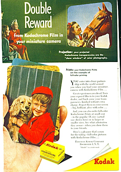 1948 Eastman Kodak Film AD Kodachrome COOL (Image1)