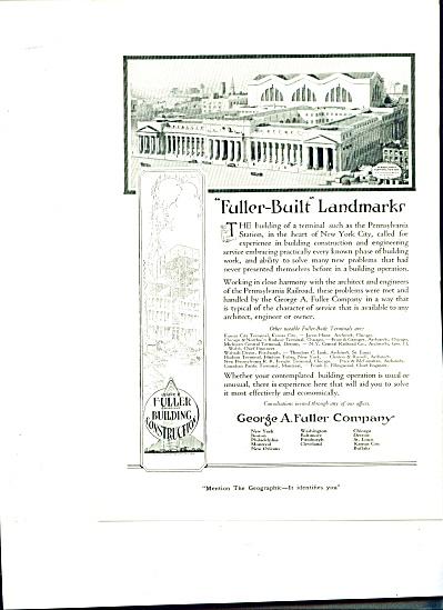 1920 Pennsylvania Station George FULLER AD Bu (Image1)