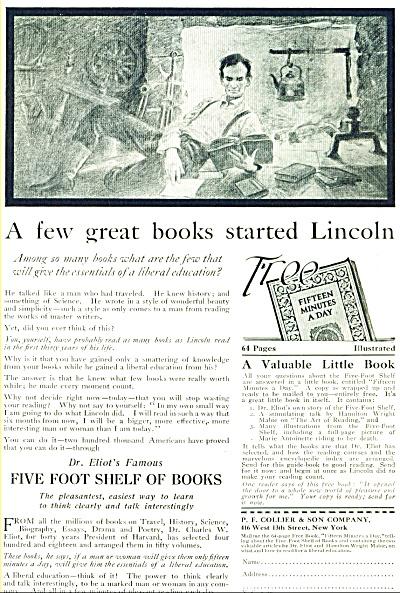 1920 P. F. Collier & Son Company AD Lincoln (Image1)