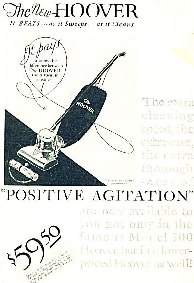1920 Vintage Hoover Vacuum cleaner Ad (Image1)