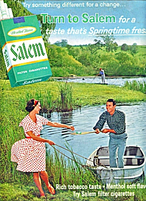 Salem filter cigarettes ad 1965 (Image1)