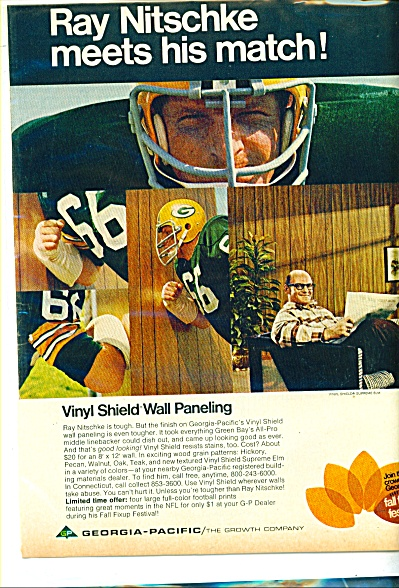 RAY NITSCHKE Georgia-Pacific Company Ad (Image1)