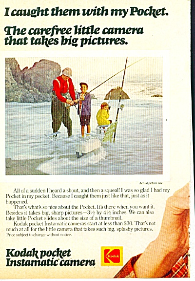 1973 Kodak Pocket Instamatic Camera AD (Image1)