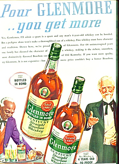 Glenmore Kentucky  Whiskey Ad Black Servant (Image1)