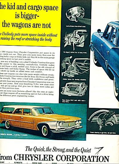 1960 CHRYSLER Dodge DART Valiant + CAR AD 2pg (Image1)