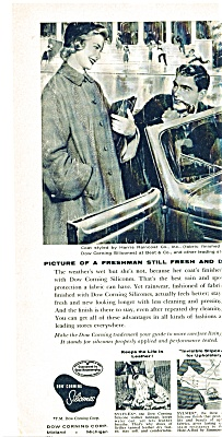 1955 Dow Corning Silicones SILICONE Ad - (Image1)