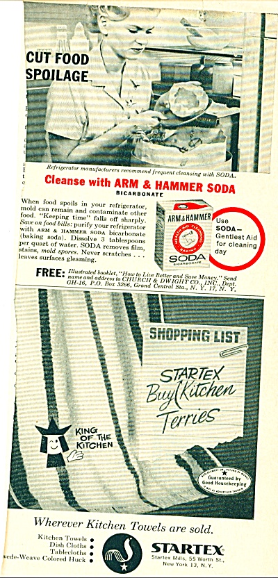Startex Kitchen towels and Arm & Hammer soda (Image1)