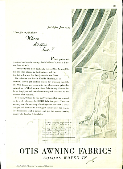 1929 Otis Awning AD ARTWORK (Image1)