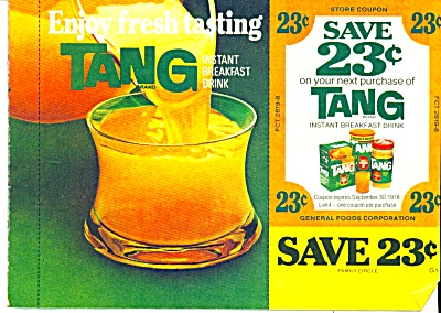 Tang  Instant breakfast drink ad -  November (Image1)