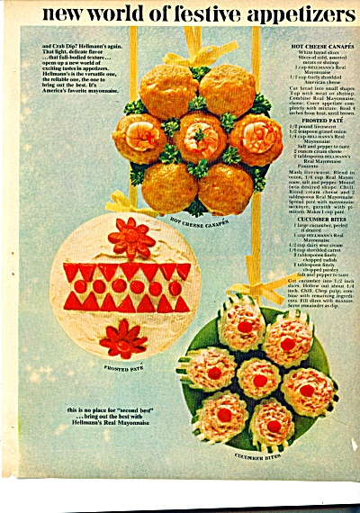 New world of festive appetizers ad - June1959 (Image1)