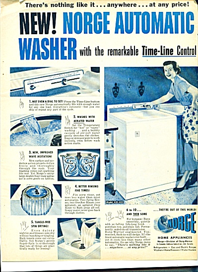 1977 Norge Automatic  Washer Washing AD (Image1)