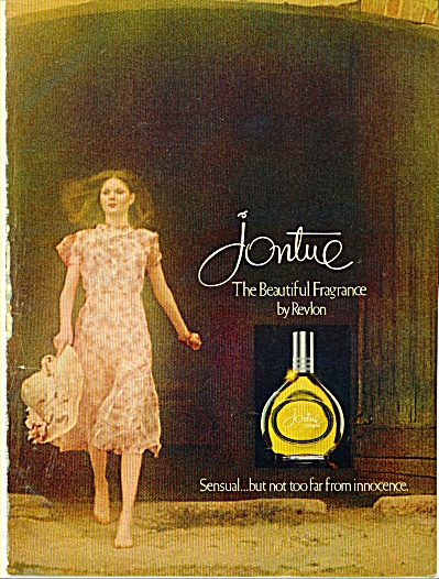 1971 REVLON Jontue perfume Ad (Image1)
