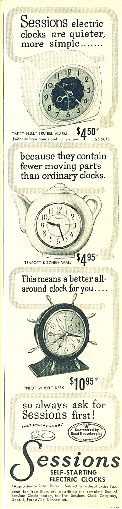 Sessions electric clocks ad (Image1)