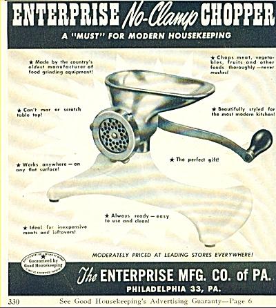 The Enterprise Mfg Co. of Pa. ad (Image1)