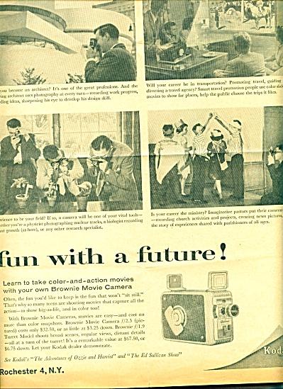 Kodak Camera Co.Ad -  October 1959 (Image1)