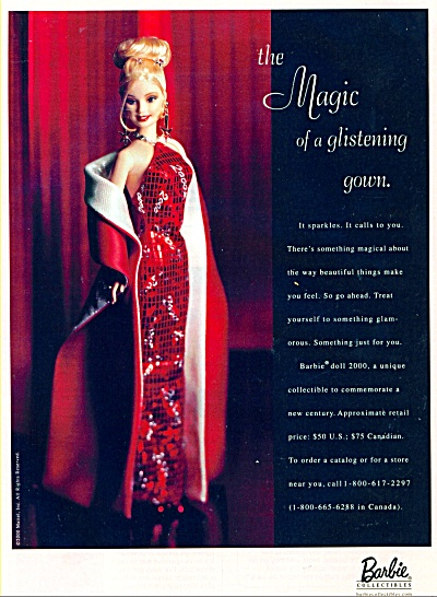 Barbie DOLL 2000 collectibles AD (Image1)