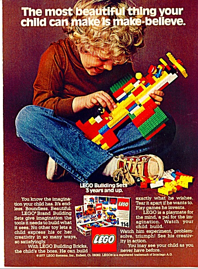 Lego building bricks ad - Nov. 15, 1977 (Image1)