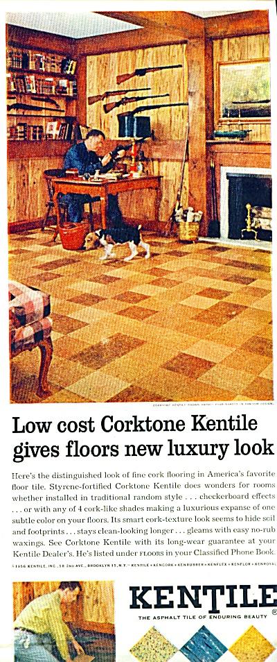 KENTILE corktone Asphalt Tile Floor AD ASBESTOS (Image1)