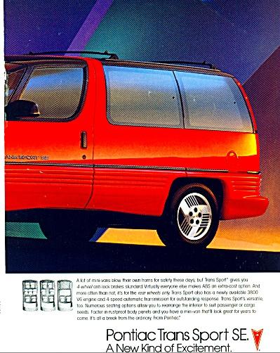1988 KOHLER Series - Pontiac Trans Sport SE A (Image1)