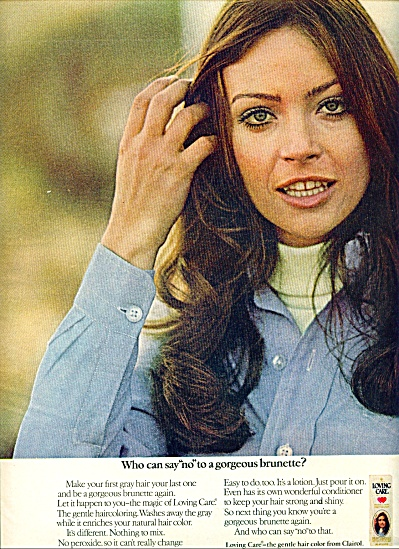 1970 CLAIROL Loving Care AD BABETTE RUSSEL (Image1)