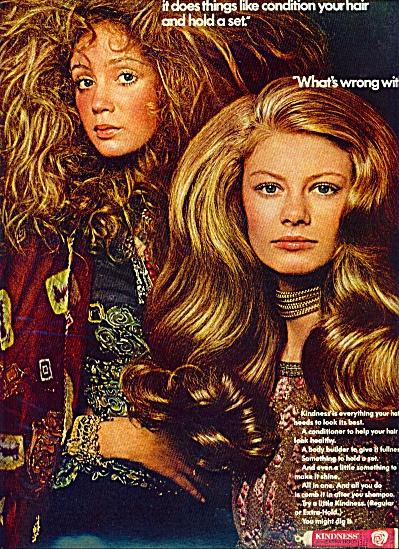 1970 KINDNESS  AD Laurel Lee Pam Barkentin (Image1)