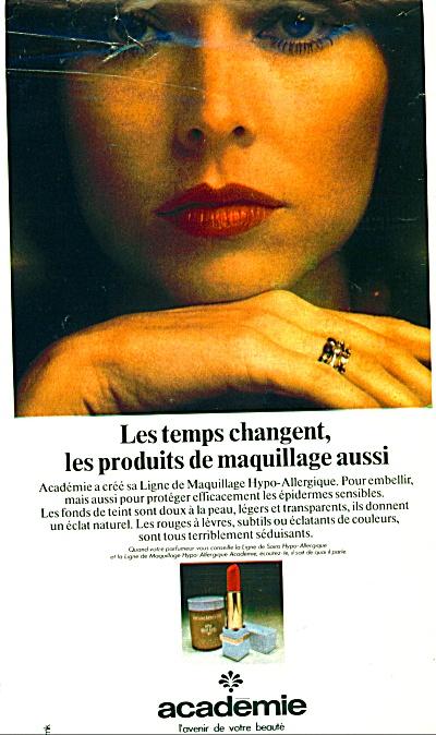 1974 Academie l'avenir de voire beaute ad (Image1)