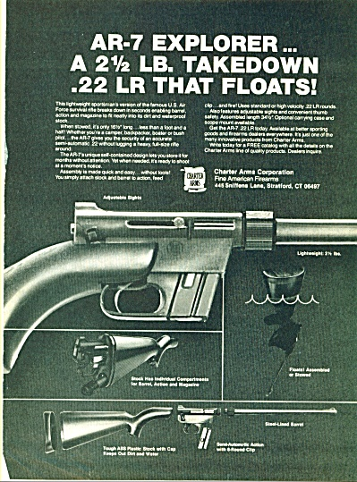 AR-7 explorer guns ad - (Image1)