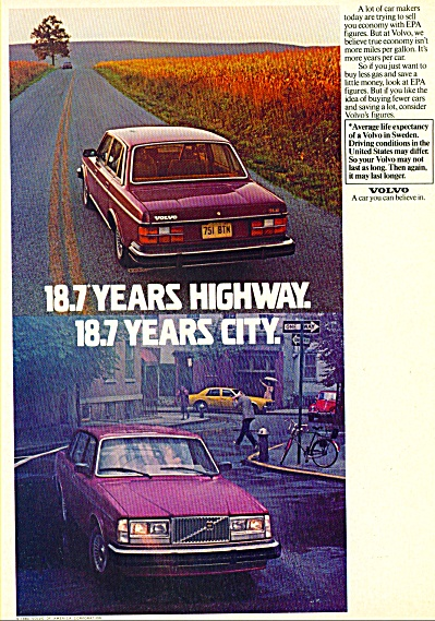 Volvo automobile ad - Jan. 26, 1981 (Image1)