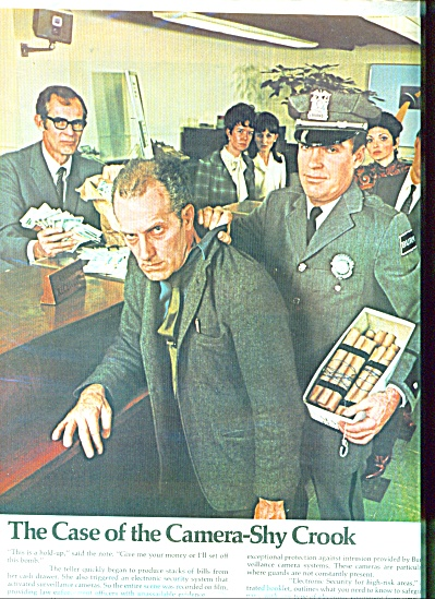 1969 WILLIAM J. BURNS DETECTIVE AGENCY AD SPY (Image1)