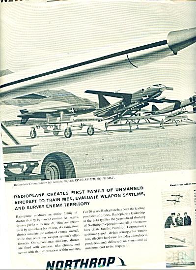 1959 Northrop AD RADIOPLANE DRONES (Image1)