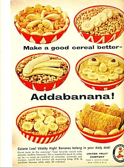 United Fruit company ad - April 1959 (Image1)