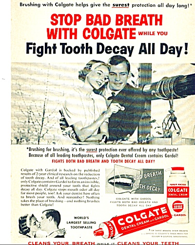 1959 Colgate Toothpaste WISHING WELL Gardol A (Image1)