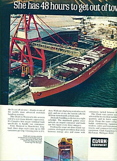 1969 CLARK Equipment MONTREAL WHARF Mancheste (Image1)